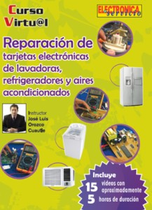 Curso de Reparación de tarjetas electrónicas de linea blanca