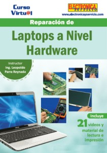 Curso virtual: Reparación de Laptops a Nivel Hardware