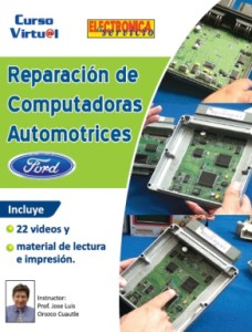 Curso virtual: Reparacion de computadoras automotrices Ford
