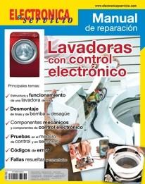Manual de reparación de lavadoras con control electrónico.