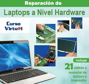 Curso virtual: Reparaci�n de computadoras port�tiles