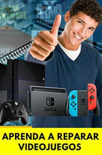 Curso de reparación de videojuegos